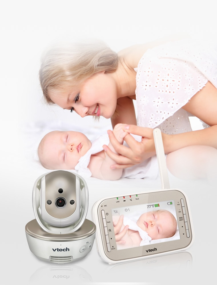 baby monitor official vtech video baby monitors. Black Bedroom Furniture Sets. Home Design Ideas